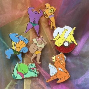 Buff Pokemon Pins