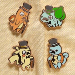 Gentlemon Pins
