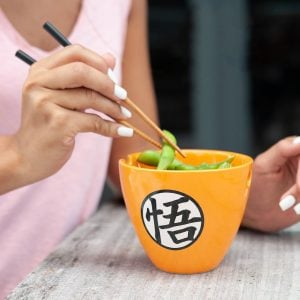 Dragon Ball Z Bowl & Chopsticks Set