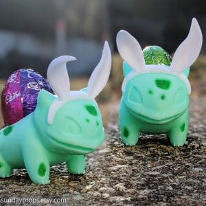 Pokemon Bulbasaur Easter Egg Holder
