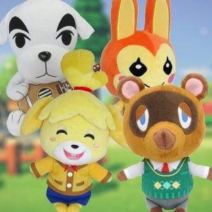 Animal Crossing Plushies