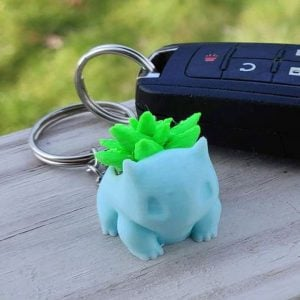 Pokemon Bulbasaur Keychain Planter