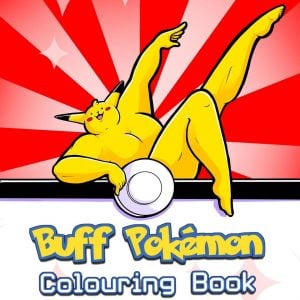 Buff Pokemon Coloring Book