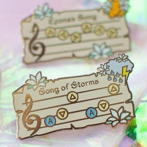 Legend of Zelda Song Pins