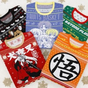 Anime Ugly Christmas Sweaters