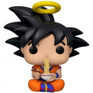 Dragon Ball Z Goku Eating Noodles Funko Pop