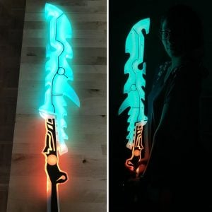 Zelda LED Guardian Sword Replica